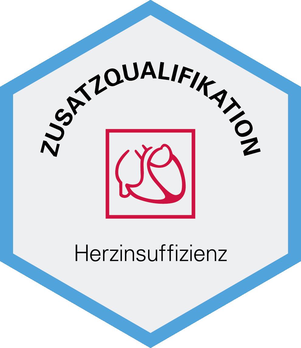 Logo Zusatzqualifikation Herzinsufizienz